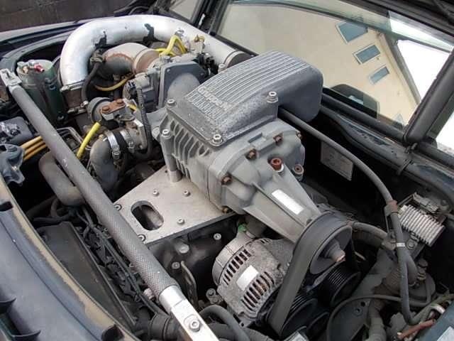 M'sのスーパーチャージャーは50台市販され8割程が販売当時に北米に輸出され当初より国内での搭載車輌が稀少でした!DCスポーツ製エキマニ&ARCチタンマフラー&M'sエアクリ&カーボンタワーバー搭載車輌です!