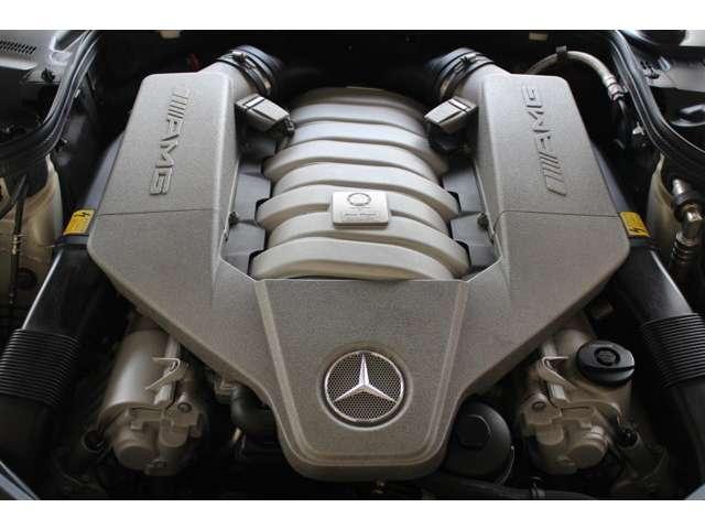 エンジンはAMG製V8-6.3L514PS(カタログ値)です。