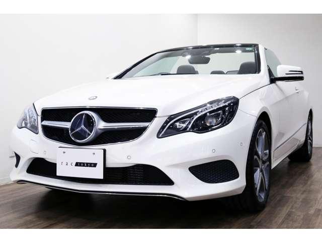 正規ディーラー車 M-Benz E250カブリオレ 右ハンドル ダイヤモンドホワイト/ブラウンレザー/ブラウンソフトトップ