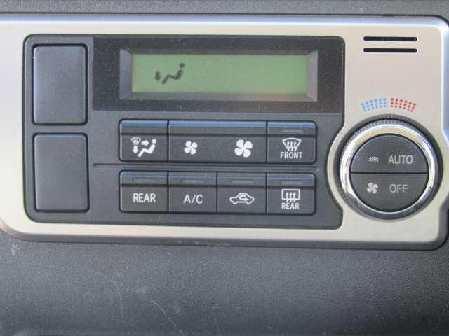 ダブルエアコン付いてます☆車内の温度管理もばっちりです☆