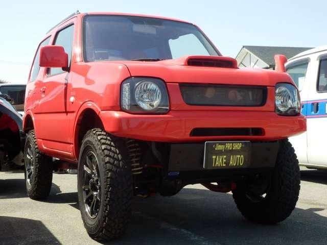 スズキ ジムニー 660 XG 4WD 中古車在庫画像3