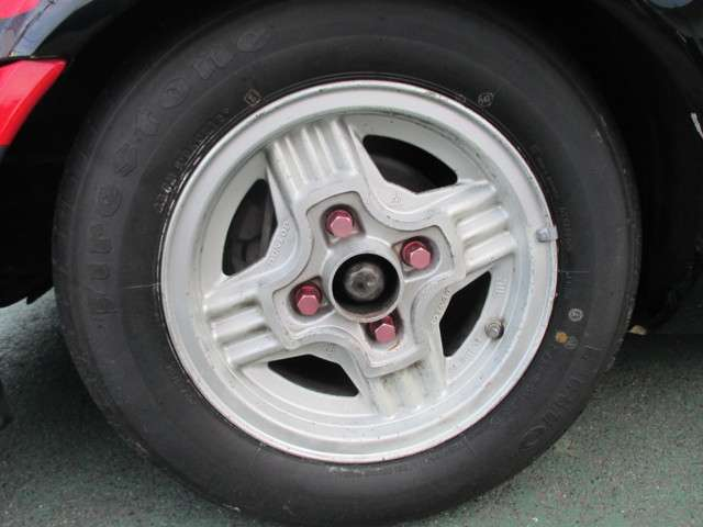 当時ものダンロップ13インチAW タイヤ新品
