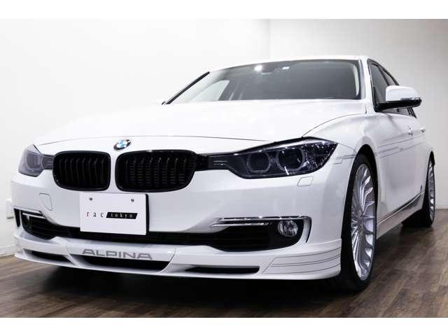 正規ディーラー車 2014年モデル BMW ALPINA B3ツーリング 右ハンドル アルピンホワイトⅢ/サドルブラウンダコタレザー