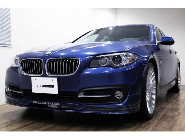 正規ディーラー車 2014年モデル BMW ALPINA D5 右ハンドル アルピナブルーメタリック/ブラックレザー