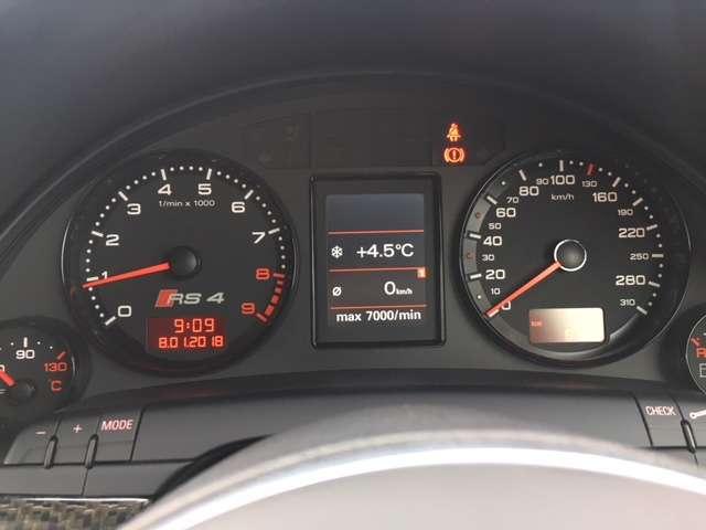 アウディRS44.2 4WD6MT 純正ナビ 禁煙車茨城県の詳細画像その14