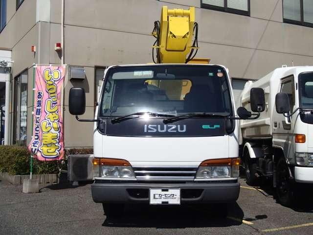 いすゞ エルフ 高所作業車 中古車在庫画像8