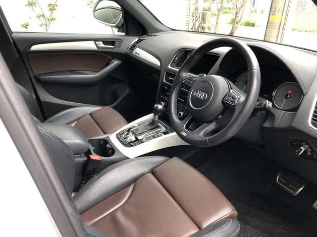 アウディSQ53.0 4WD OP21インチAWコンビレザーシート 禁煙車 修復歴無愛知県の詳細画像その12