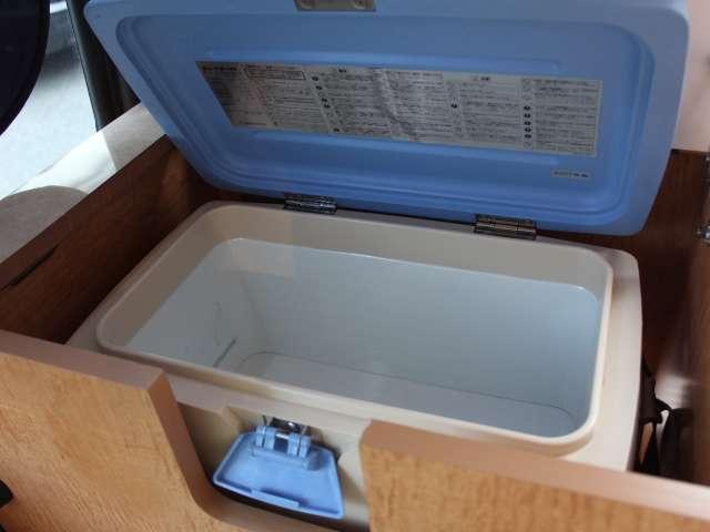 冷蔵庫装備!いつでも冷たい物がいただけます♪