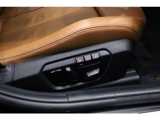 純正オプションのランバーサポート(運転席&助手席、電動調整式)(¥47,000)装備!!