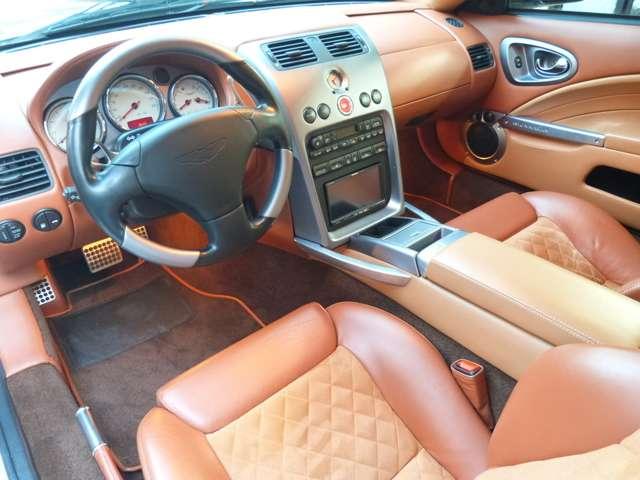アストンマーティンV12ヴァンキッシュ5.9Sリップスポイラーディーラー車DTVナビ記録東京都の詳細画像その13