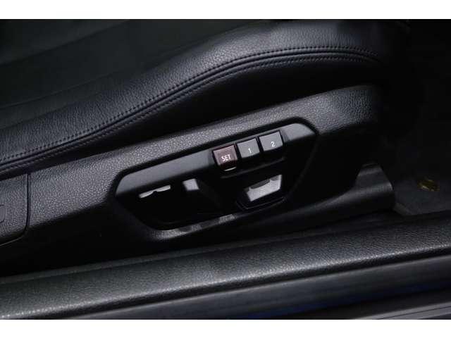 純正オプションのランバー・サポート(運転席&助手席、電動調整式)(¥47,000)装備!!