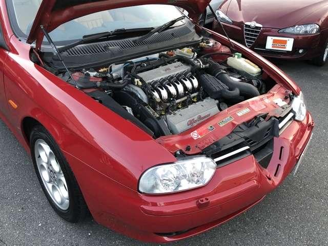 アルファ ロメオアルファ1562.5 V6 24Vタイベル類交換・リフレッシュ整備付大阪府の詳細画像その18