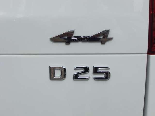 BRABUS D25 4X4リヤエンブレム
