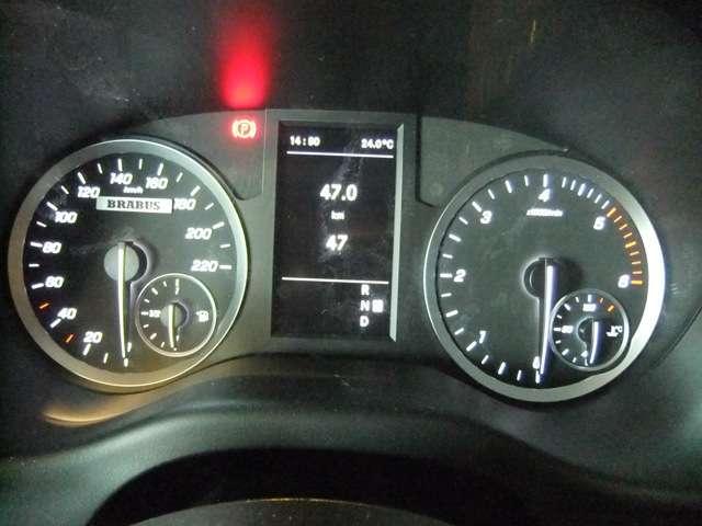 BRABUS 220kmスピードメーター
