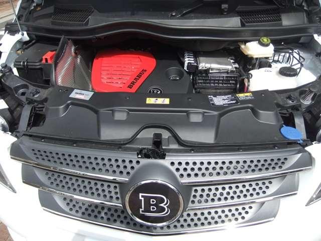 BRABUS D25コンプリートエンジン 215ps4200rpm 49kgm2100rpm 0~100km9.4S Vmax209km(カタログ値)