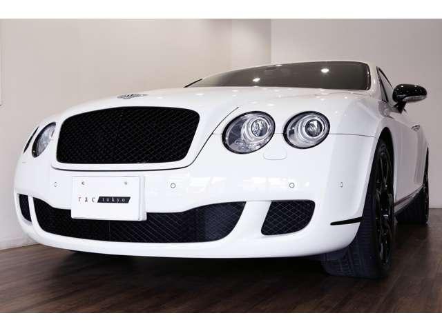 正規ディーラー車 2008年モデル Bentley コンチネンタルGT 左ハンドル グラッシャーホワイト/レッドレザー