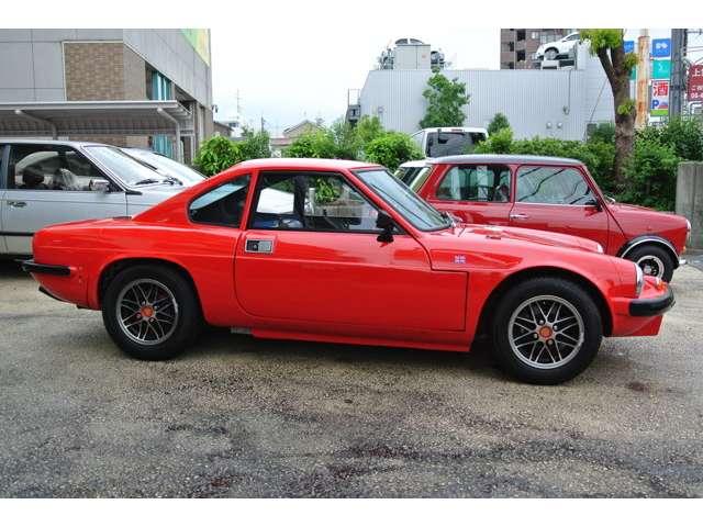 希少車!1973年式ジネッタG15 英国車の中でもマイナーなクルマです!車検整備受け渡し チューブラーシャーシー+ファイバーボディ リア・エンジン+チルトカウル 快調です!