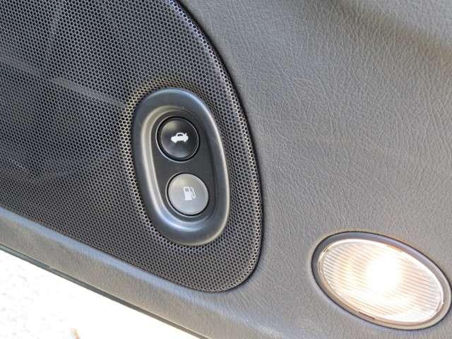 トランクやガソリンをあけるのにわかりやすく、すぐに開けられるのはとても便利です。