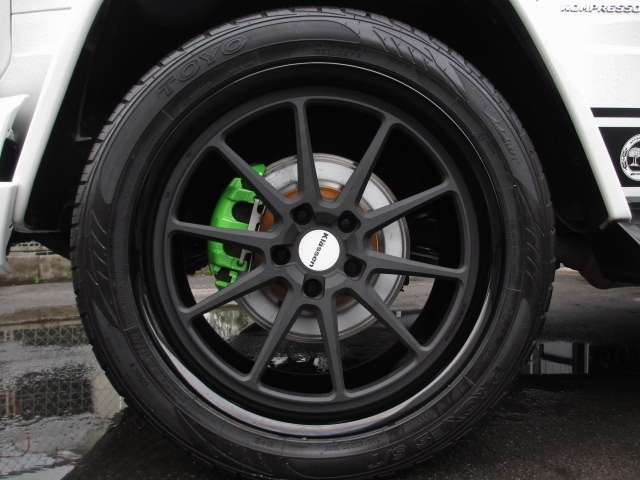 AMGGクラスG55L 4WDデジーノ 鍛造22AW 62style カスタマイズ静岡県の詳細画像その19