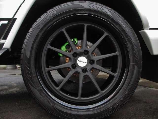 AMGGクラスG55L 4WDデジーノ 鍛造22AW 62style カスタマイズ静岡県の詳細画像その20