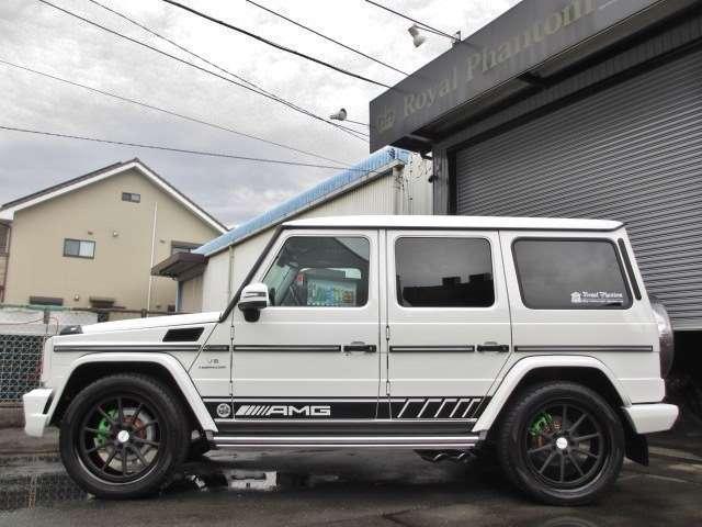 AMGGクラスG55L 4WDデジーノ 鍛造22AW 62style カスタマイズ静岡県の詳細画像その8