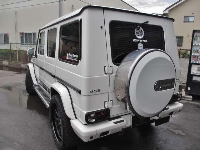 AMGGクラスG55L 4WDデジーノ 鍛造22AW 62style カスタマイズ静岡県の詳細画像その10