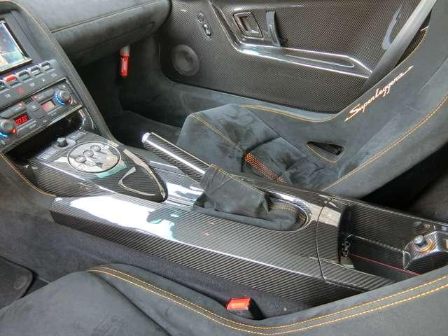 ランボルギーニガヤルドスーパーレジェーラ eギア 4WDD車 CSカーボンエアロ Kパイプマフラー兵庫県の詳細画像その16