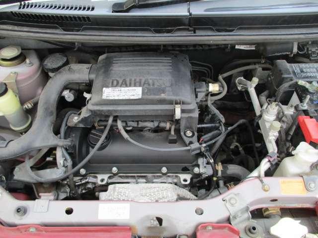☆水冷直列3気筒SOHC6バルブ EF-SEエンジン 48PS(カタログ値)☆