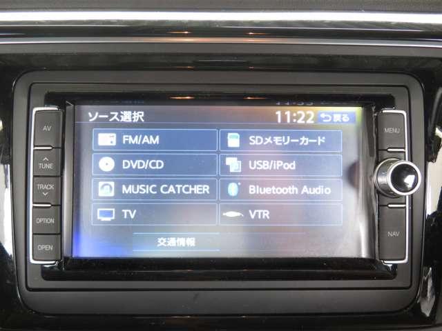 ドライブ中に好きな音楽を再生!Bluetooth機能付き!