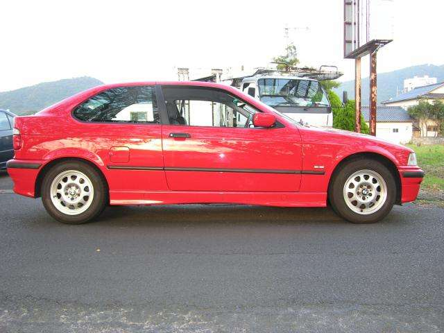 BMW3シリーズコンパクト318ti セレクション女性ワンオーナー禁煙島根県の詳細画像その7