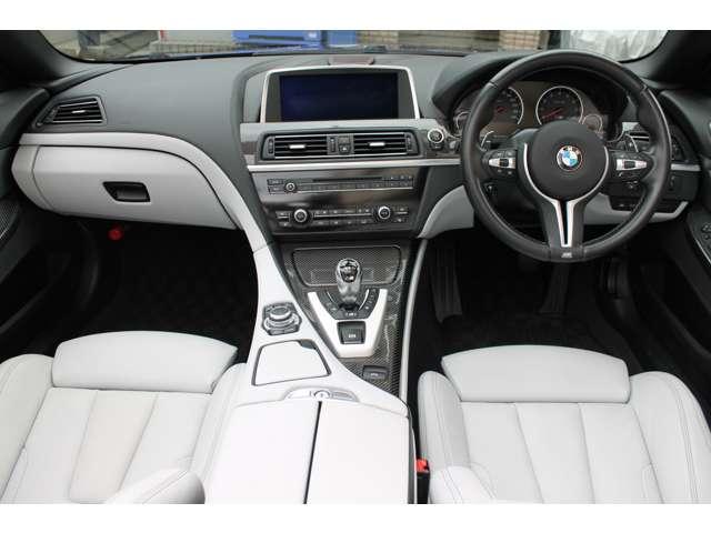 BMWM6 カブリオレ4.4白革 右ハンドル バング&オルフセン東京都の詳細画像その11