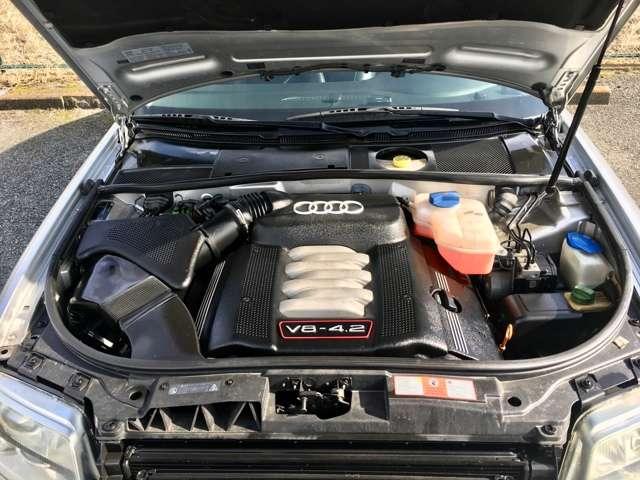 アウディS64.2 4WD車高調 ナビ フルセグTV ETC バックカメラ神奈川県の詳細画像その10