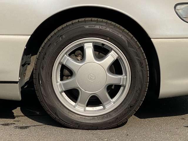 タイヤ新品装着、前後ブレーキパッド交換済
