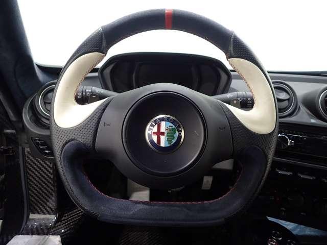 アルファ ロメオ4C1.7直4DOHC16ICターボ黒革Alfa TCT左H埼玉県の詳細画像その11