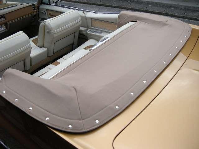 トノカバーは布地で注文で制作してます。
