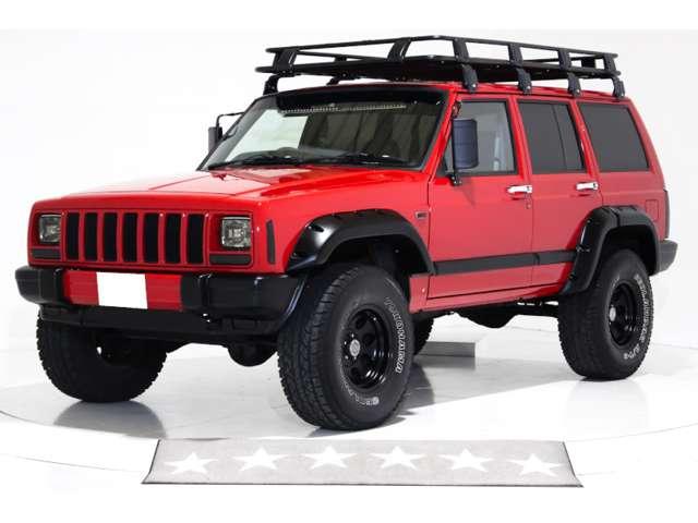 4WD リフトアップ ビッグサイズルーフラック ナルディウッドステアリング ワイドオーバーフェンダー PRO COMP ALLOYS15インチアルミホイール キーレス ビッグサイズドアミラー