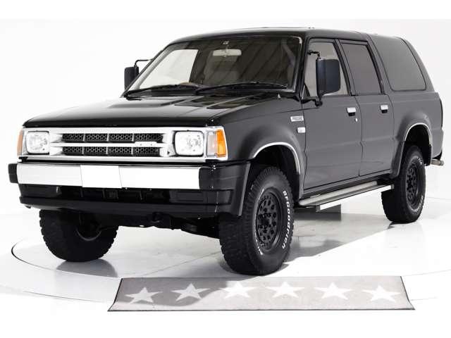 4WD 2DINメモリーナビ ワンセグTV CD 分離型ETC サンルーフ 社外15インチアルミホイール BFグッドリッチオールテレーンT/Aホワイトレタータイヤ 3列シート 7人乗り 1ナンバー可能