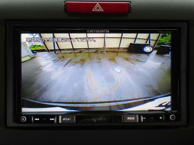 駐車時も安心☆バックカメラ付き!