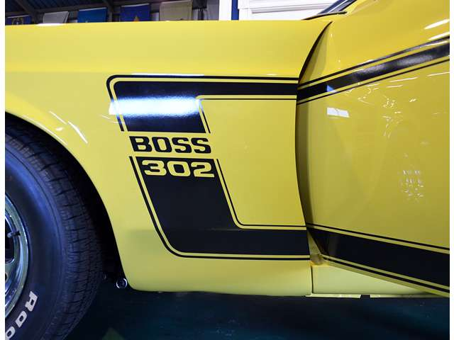BOSS 302 デカール