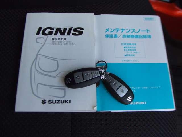 スズキイグニス1.2 ハイブリッド MX セーフティパッケージ装着車DCBS・ナビ・フルセグTV・ETC・1オーナー東京都の詳細画像その16