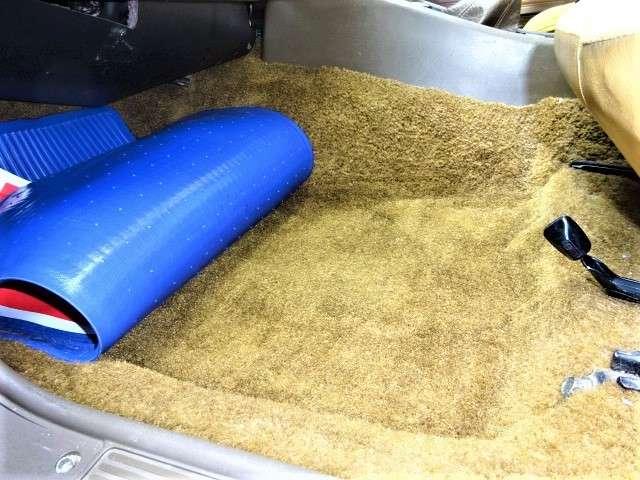 この毛足の長いゴージャスなじゅうたんもご堪能いただける良い状態です!