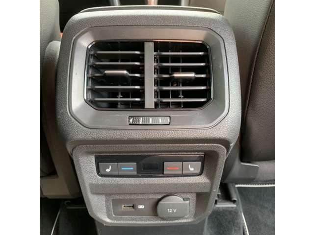後部座席用エアコン
