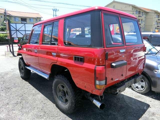 トヨタランドクルーザー703.5 STD ディーゼル 4WD熊本県の詳細画像その5