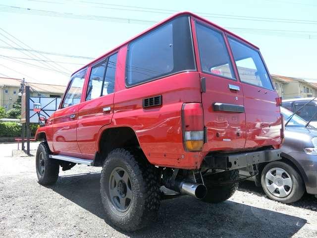 トヨタランドクルーザー703.5 STD ディーゼル 4WD熊本県の詳細画像その7