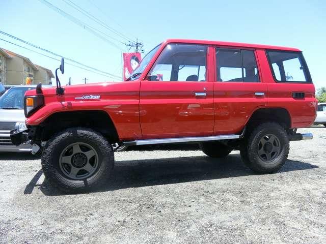 トヨタランドクルーザー703.5 STD ディーゼル 4WD熊本県の詳細画像その8