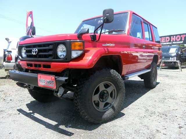 トヨタランドクルーザー703.5 STD ディーゼル 4WD熊本県の詳細画像その9
