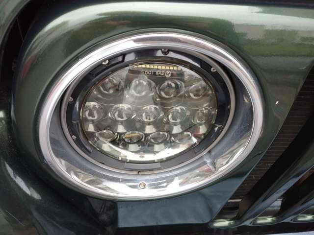 LEDヘッドライト ハイロー切替式