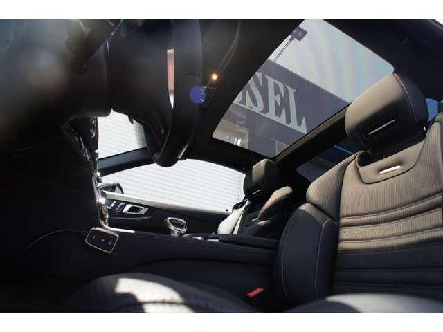 AMGSLクラスSL63 AMGダイナミックパッケージカーボンエクステリア&インテリア 黒革S愛知県の詳細画像その11