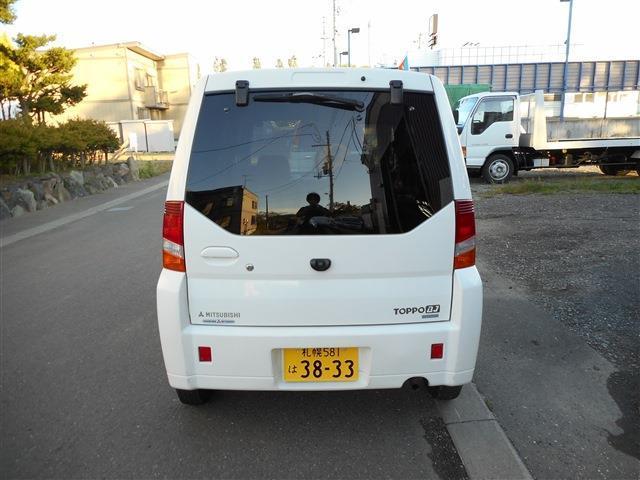 三菱トッポBJ660 S 4WD北海道の詳細画像その2