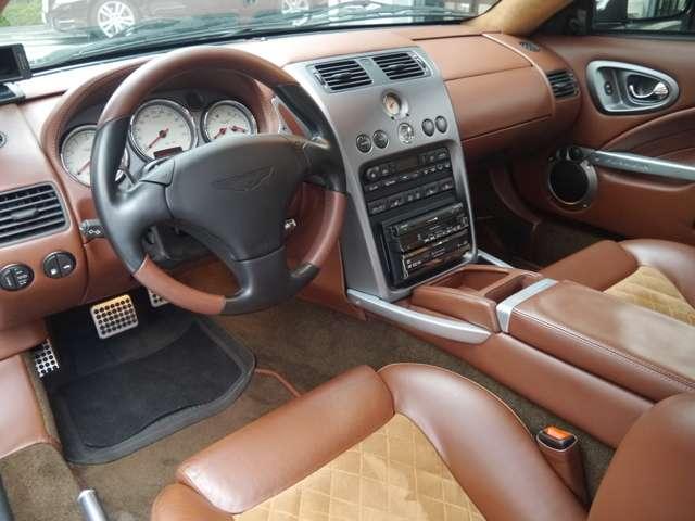 アストンマーティンV12ヴァンキッシュ5.9ディラー車記録簿HDDナビアルカンターラ左東京都の詳細画像その13